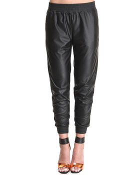 Lovers + Friends - Vegan Leather Track Pants