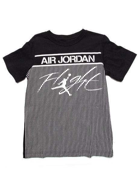 Air Jordan Boys Black Jordan Colossal Flight Tee (8-20)