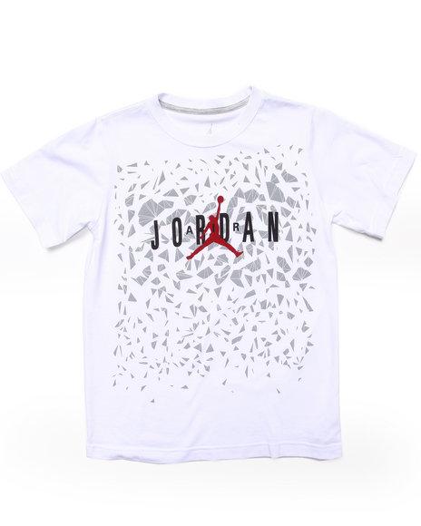 Air Jordan - Boys White Drop Step Tee (8-20)