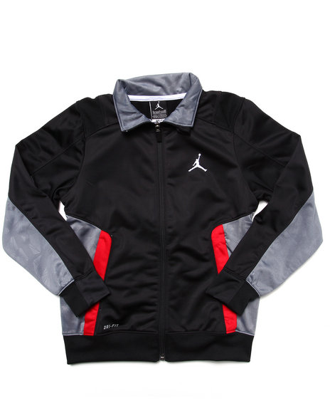 Air Jordan Boys Black Aeromania 2 Jacket (8-20)