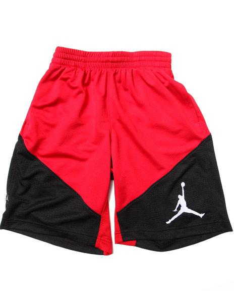Air Jordan Boys Red Triangle Triumph Shorts (8-20)