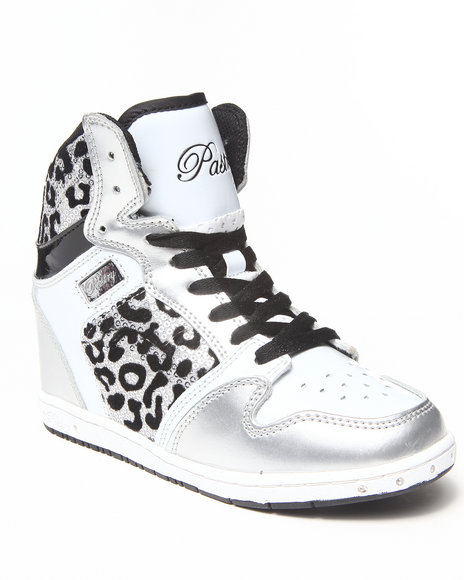 Pastry White Glam Pie Wedge Sneaker