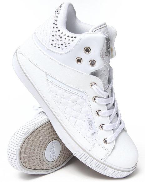 Pastry White Sire Varsity Punk Sneaker