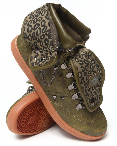 Pastry Olive Studded Sugar Rush Swirl Sneaker