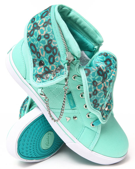 Ur-ID 222865 Pastry - Women Green Studded Sugar Rush Canvas Sneaker by Pastry