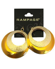 Rampage - Mod Moons Circular Duo Earrings