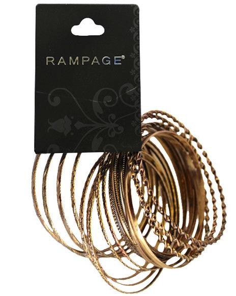 Rampage Gold Bracelets