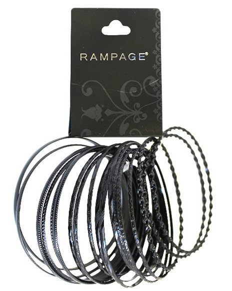 Rampage Black Clothing Accessories