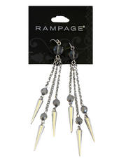 Women - Spikes Chandelier Earrings