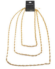 Necklaces - Gold Link Layers Necklace