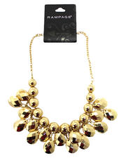 Rampage - Oval Gold Chandelier Necklace