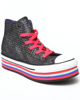Converse - Chuck Taylor All Star Zipper Platform (11-6)