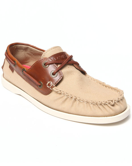 Levi's Tan Parker Le Boat Shoes