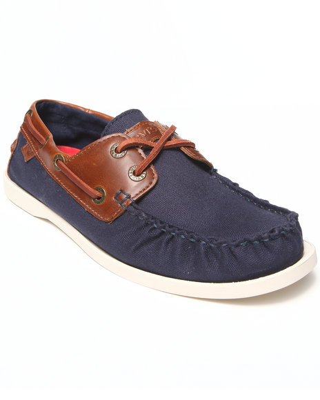 Levi's - Men Navy Parker Le Boat Shoes