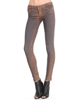 Diesel - Skinzee Metallic Skinny Jeans