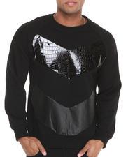 Pullover Sweatshirts - Urraco 73 Faux Snakeskin Premium Sweatshirt