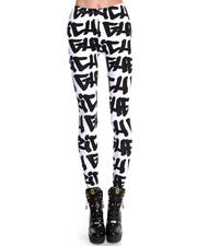 Leggings - Ghetto Graffiti Leggings