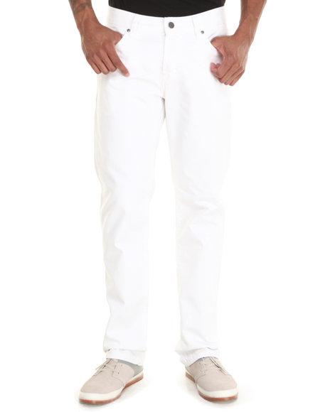 Kilogram White Stark White Flap Pocket Denim Jeans