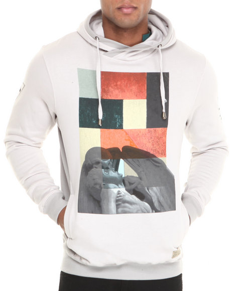 Entree Light Grey Annunciation Hoodie