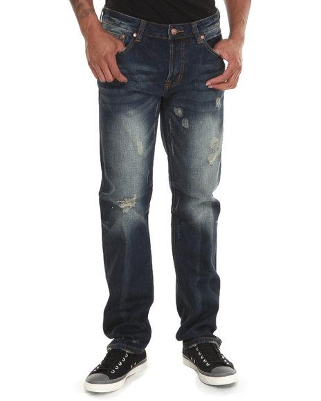 Kilogram Vintage Wash Crinkle Denim Jeans
