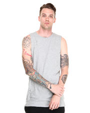 Tank Tops - Luke Distressed Tank