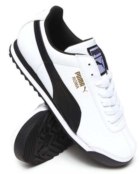 Puma - Men White Roma Sneakers