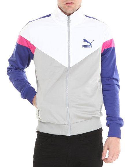 Puma Grey Icon Mcs Track Jacket