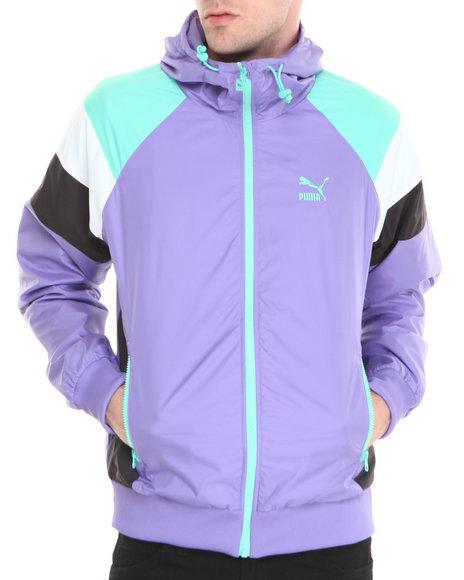 Puma Purple Seasonal Wind Jacket