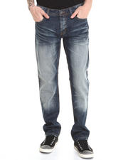 Kilogram - Construction Spattered Denim Jeans