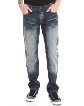 Kilogram - Construction Spattered Denim Jeans