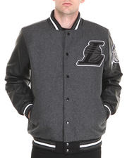NBA, MLB, NFL Gear - Los Angeles Lakers Bogue Varsity Jacket