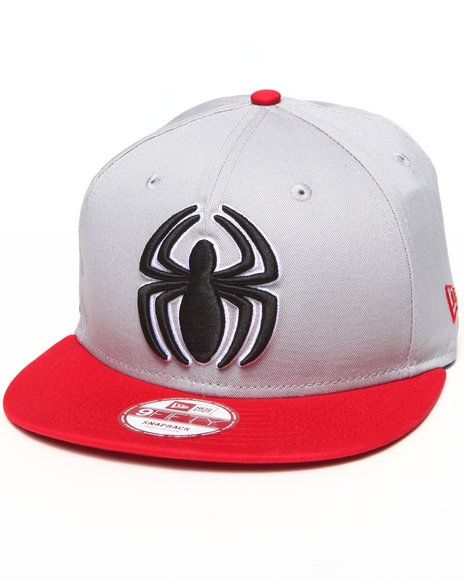 New Era Grey Spider-Man Side Badge 950 Snapback Hat