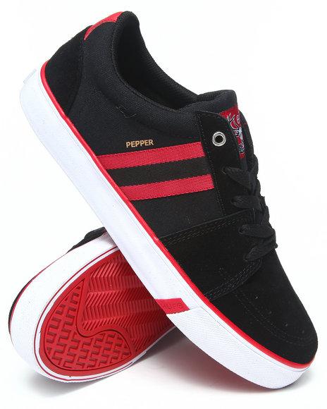 Huf - Men Black,Red Pepper Pro Sneakers