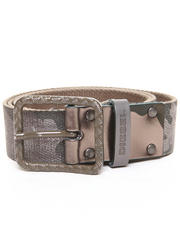 Diesel - Laminated Camo Cotton Tape Belt