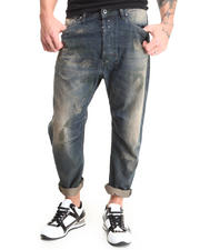 DJP OUTLET - Narrot Drop Crotch Crop Jean