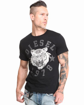 Diesel - Blinged Out Tiger Tee