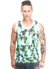 Men - Aloha Palm Tank