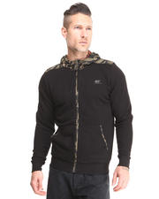 Men - 55DSL Camo Zip-up Hoodie