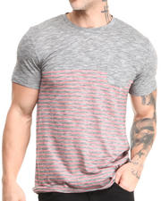 Buyers Picks - Solid & Striped Contrast Crew Neck Pocket Tee