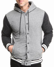 Buyers Picks - Sherpa Lined Snap Up Hoodie