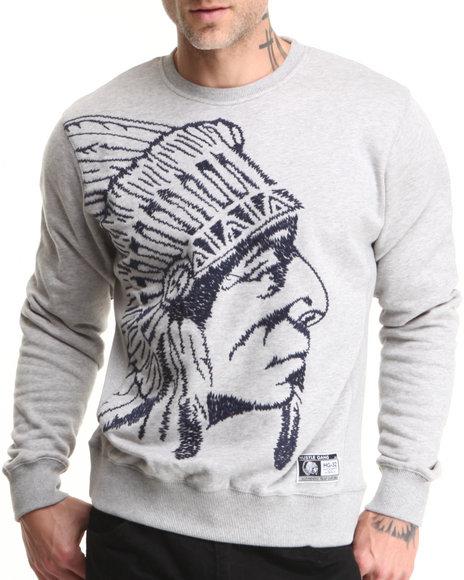 Hustle Gang Grey Massive Crewneck Sweatshirt