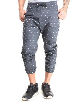 Buyers Picks - Star Pattern Twill Jogger Pants