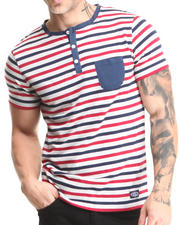 Buyers Picks - Short Sleeve Pocket Henley