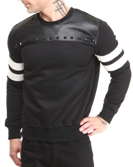 Rolling Paper Black Kush Pu Crew Sweatshirt