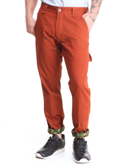 Sabit Orange Workman 2 Cotton Pant