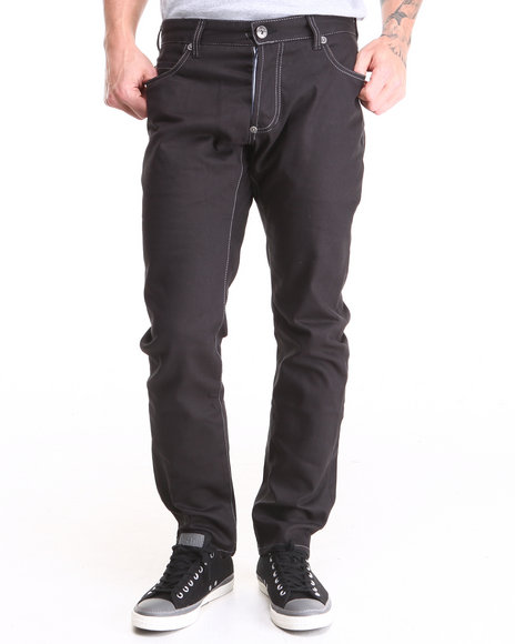 Sabit Black Tough Cotton Pant