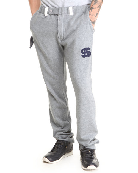Basic Essentials - Men Grey Slider Sweat Pant - $29.99