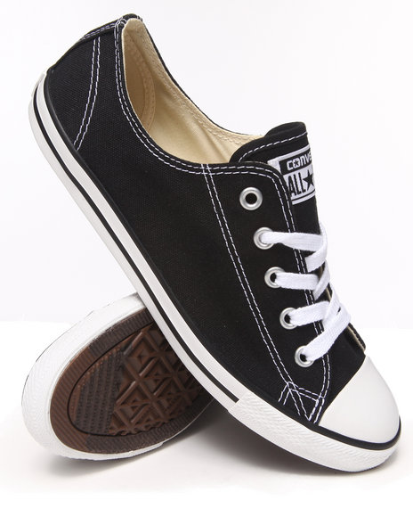 Converse - Women Black Chuck Taylor All Star Dainty Sneakers