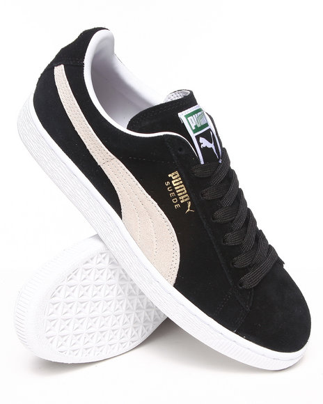 Puma Black Suede Classic Eco Sneakers