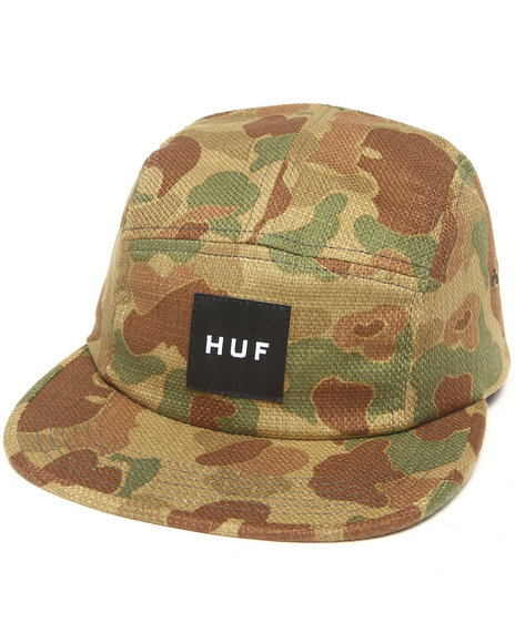 Huf Men Japanese Camo Volley 5-Panel Cap Camo